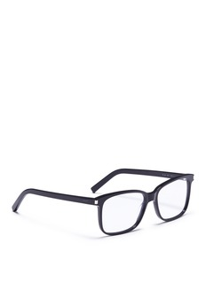 SAINT LAURENT Acetate square optical glasses