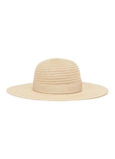 Borsalino 'Pamela' grosgrain bow hemp straw panama hat