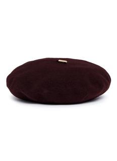 Janessa Leone 'Renee' wool beret