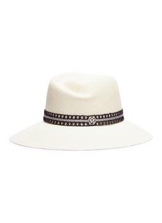 Maison Michel 'Rose' caning ribbon straw Panama hat