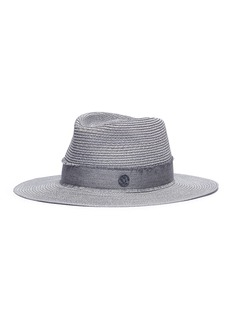 Maison Michel 'Charles' straw fedora hat
