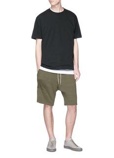 bassike Drawstring sweat shorts
