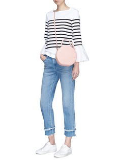Muveil Bell sleeve stripe top