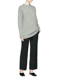 THE ROW Lilla羊绒罗纹针织衫