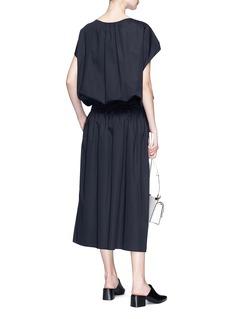 The Row 'April' smocked poplin dress