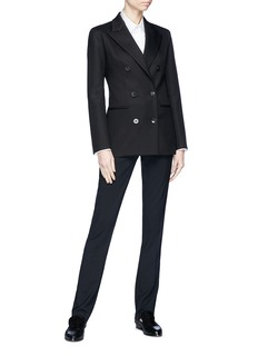 The Row 'Rupsen' double breasted suiting blazer