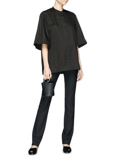 The Row 'Doco' split cuff skinny suiting pants