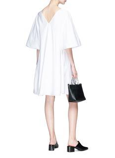 The Row 'Lianne' flared sleeve cotton poplin dress
