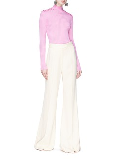 Emilio Pucci Rib knit turtleneck sweater