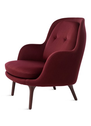 Main View - Click To Enlarge - Republic of Fritz Hansen - Fri lounge chair