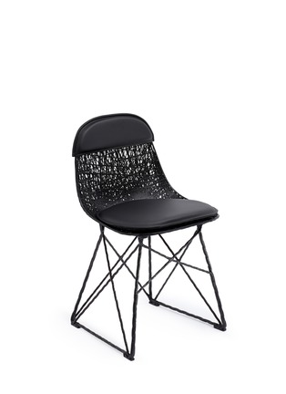 Main View - Click To Enlarge - Moooi - Carbon pad & cap chair