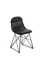Carbon pad & cap chair