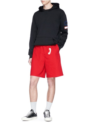 - Acne Studios - 'Port' patch unisex shorts