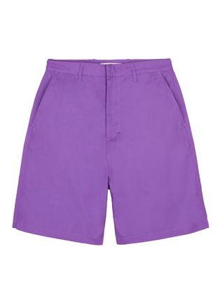 Main View - Click To Enlarge - Acne Studios - 'Port' patch unisex shorts