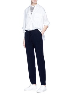 Vince Cotton-silk poplin shirt