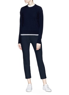 Vince Split back cropped suiting pants