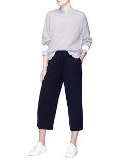 Vince Cashmere-cotton sweater
