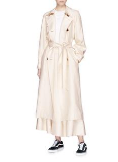 Elizabeth and James 'Dakotah' belted woven trench coat