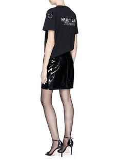 Helmut Lang Ring charm logo print T-shirt