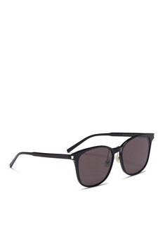 Saint Laurent 'K Slim 001' acetate square sunglasses