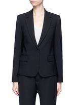 'Gabe N' single button wool blazer