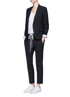 Theory 'Gabe N' single button wool blazer