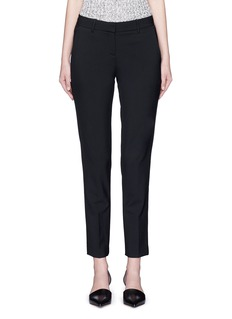 Theory 'Testra' cropped wool-blend pants