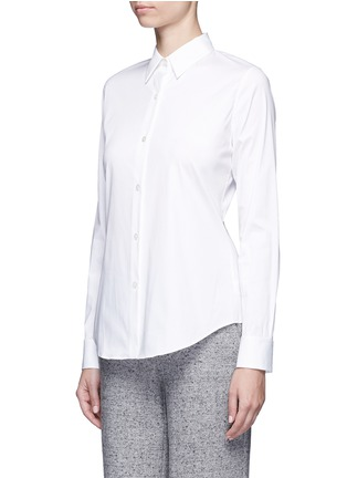 Theory - 'Tenia' stretch cotton blend shirt