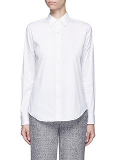 Theory 'Tenia' stretch cotton blend shirt