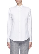 'Tenia' stretch cotton blend shirt