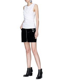 T By Alexander Wang Wraparound sleeve tie tank top