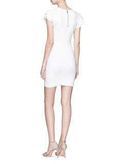 alice + olivia 'Kellin' ruffle sleeve knit dress