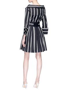 alice + olivia 'Iliana' stripe party shirt dress