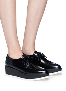 Paloma Barceló 'Phil' leather platform Derbies