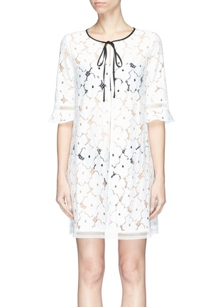 Main View - Click To Enlarge - Kisuii - 'Mila' floral lace jacket