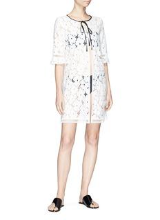Kisuii 'Mila' floral lace jacket
