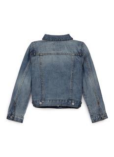 Little Starters x Lane Crawford Star embroidered kids denim jacket