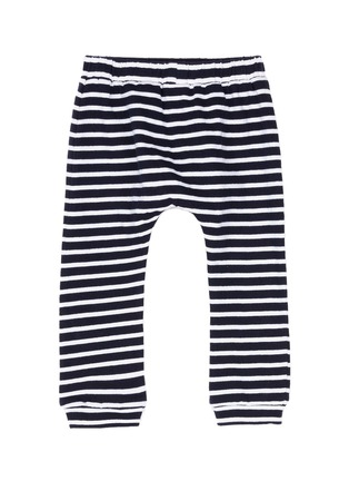 Figure View - Click To Enlarge - Little Starters x Lane Crawford - 'The Superstar' stripe jersey kids pants