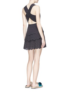 Marysia 'San Onofre' polka dot cross back dress