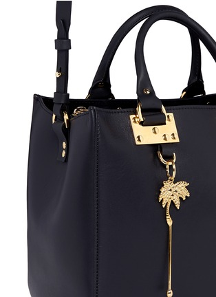 Detail View - Click To Enlarge - Sophie Hulme - 'Mini Beaumont' adjustable leather tote