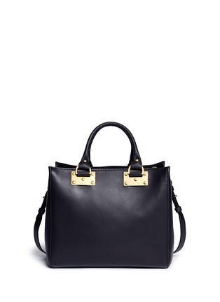 Back View - Click To Enlarge - Sophie Hulme - 'Mini Beaumont' adjustable leather tote