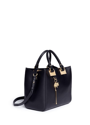 Front View - Click To Enlarge - Sophie Hulme - 'Mini Beaumont' adjustable leather tote