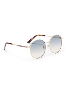Gucci Metal round sunglasses