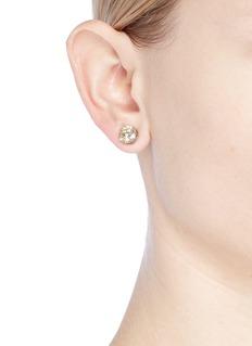 CZ by Kenneth Jay Lane Cubic zirconia stud earrings