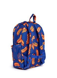Herschel Kids 'Heritage' hotdog print canvas 16L kids backpack