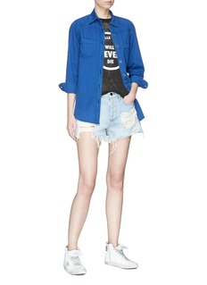 Sandrine Rose 'The Mulholland' boyfriend denim shirt