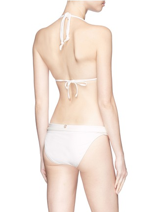 Back View - Click To Enlarge - ViX - 'Bia' slide bead bikini bottoms