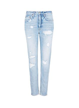 Main View - Click To Enlarge - GRLFRND - 'Karolina' distressed skinny jeans