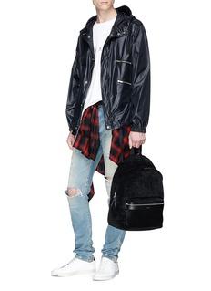 SAINT LAURENT Zip pocket windbreaker jacket