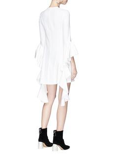Ellery 'Kilkenny' frill sleeve crepe cady dress